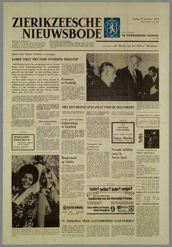 Zierikzeesche Nieuwsbode 1972-11-24