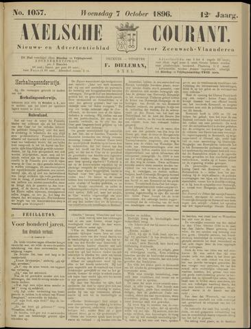 Axelsche Courant 1896-10-07