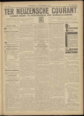 Ter Neuzensche Courant. Algemeen Nieuws- en Advertentieblad voor Zeeuwsch-Vlaanderen / Neuzensche Courant ... (idem) / (Algemeen) nieuws en advertentieblad voor Zeeuwsch-Vlaanderen 1931-11-11