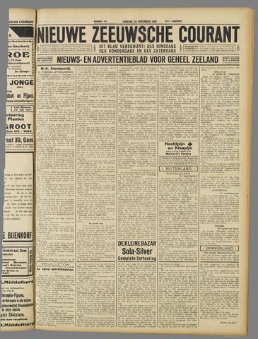 Nieuwe Zeeuwsche Courant 1932-11-29