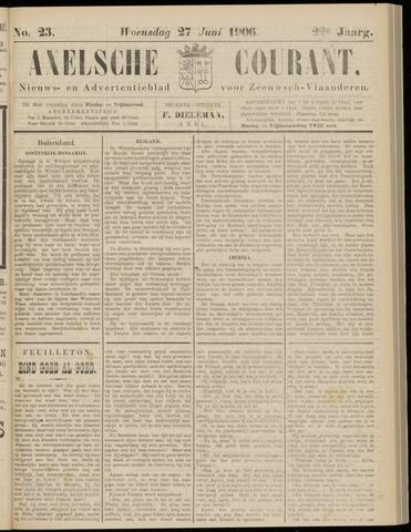 Axelsche Courant 1906-06-27