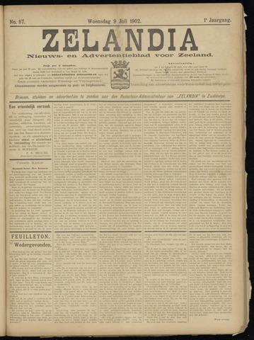 Zelandia. Nieuws-en advertentieblad voor Zeeland | edities: Het Land van Hulst en De Vier Ambachten 1902-07-09