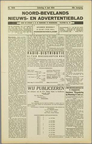 Noord-Bevelands Nieuws- en advertentieblad 1934-06-09