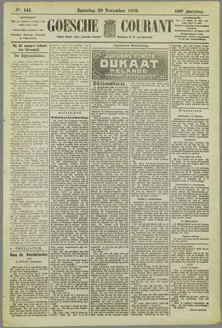 Goessche Courant 1919-11-29