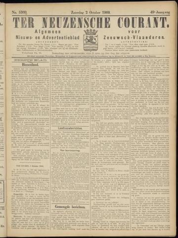 Ter Neuzensche Courant. Algemeen Nieuws- en Advertentieblad voor Zeeuwsch-Vlaanderen / Neuzensche Courant ... (idem) / (Algemeen) nieuws en advertentieblad voor Zeeuwsch-Vlaanderen 1909-10-02