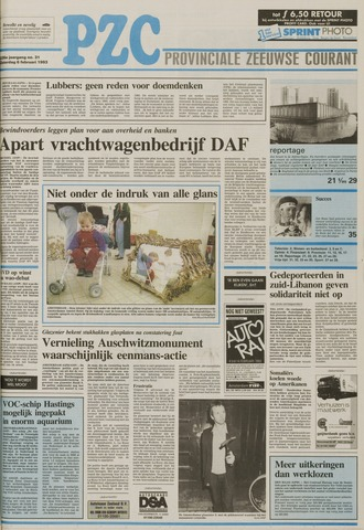 Provinciale Zeeuwse Courant 1993-02-06