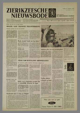 Zierikzeesche Nieuwsbode 1965-08-27