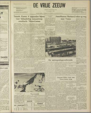 de Vrije Zeeuw 1962-08-28