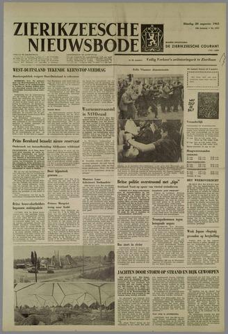 Zierikzeesche Nieuwsbode 1963-08-20