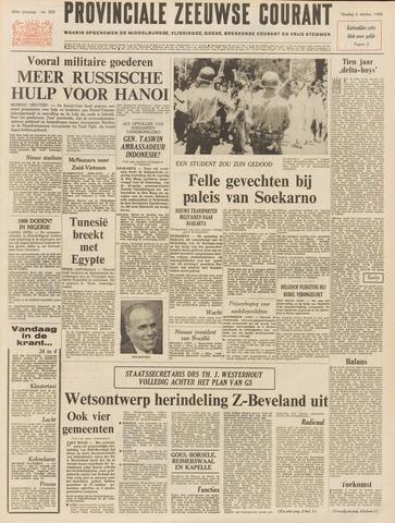 Provinciale Zeeuwse Courant 1966-10-04