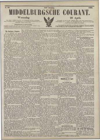 Middelburgsche Courant 1902-04-23