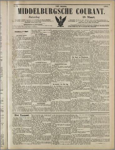 Middelburgsche Courant 1903-03-28