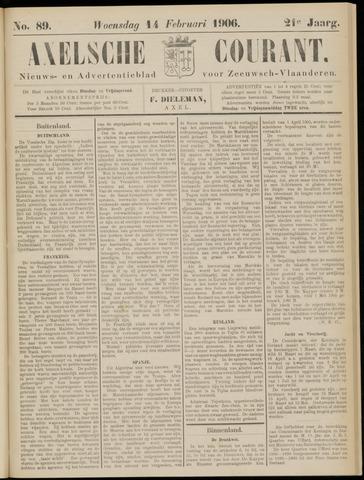 Axelsche Courant 1906-02-14