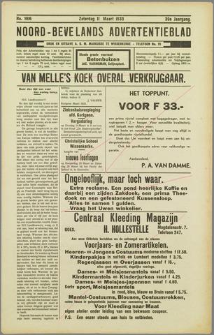 Noord-Bevelands Nieuws- en advertentieblad 1933-03-11