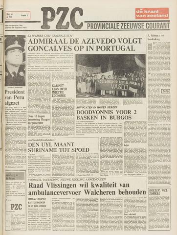Provinciale Zeeuwse Courant 1975-08-30