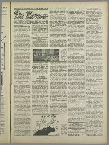 De Zeeuw. Christelijk-historisch nieuwsblad voor Zeeland 1943-10-30