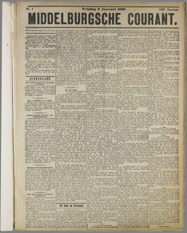 Middelburgsche Courant 1920