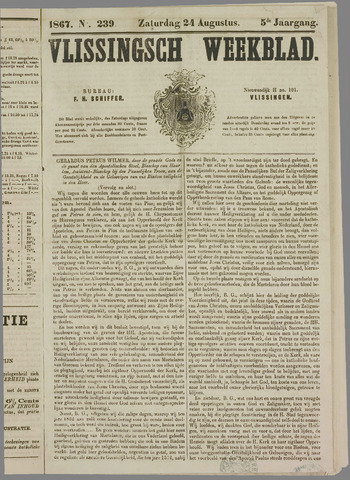 Vlissings Weekblad 1867-08-24