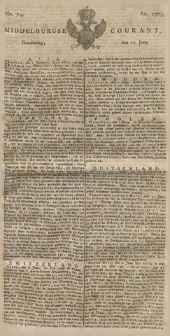 Middelburgsche Courant 1775-06-22