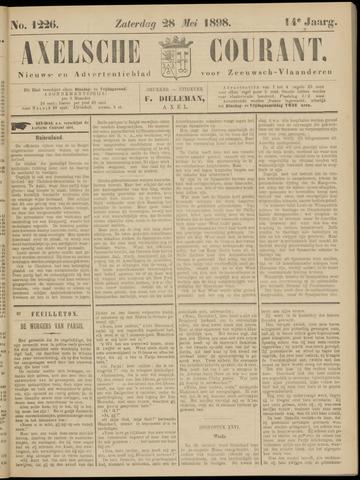 Axelsche Courant 1898-05-28