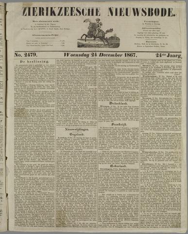 Zierikzeesche Nieuwsbode 1867-12-24