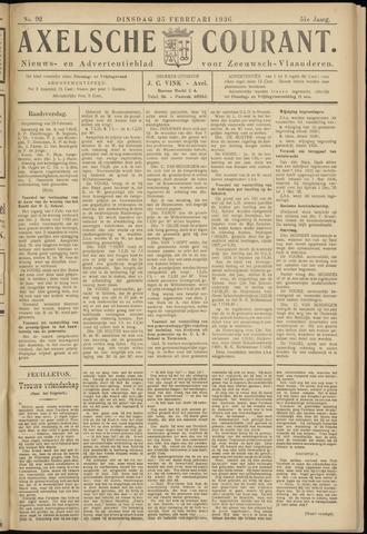 Axelsche Courant 1936-02-25