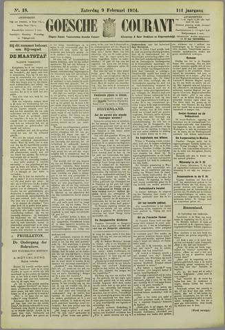 Goessche Courant 1924-02-09