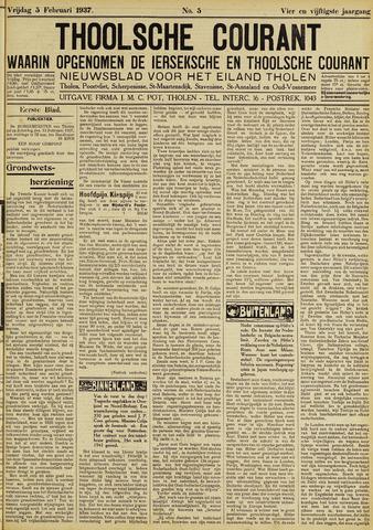 Ierseksche en Thoolsche Courant 1937-02-05