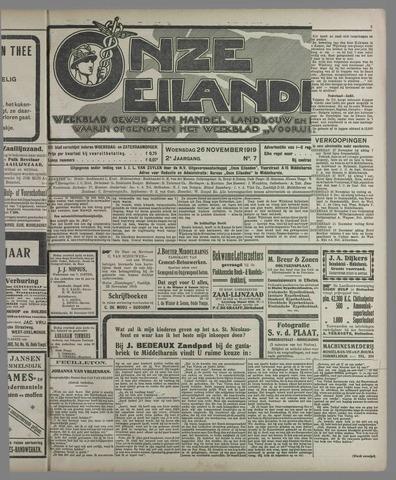 Onze Eilanden 1919-11-26