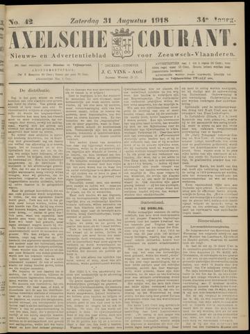 Axelsche Courant 1918-08-31