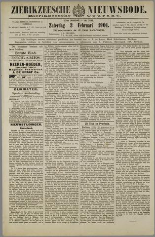 Zierikzeesche Nieuwsbode 1901-02-02