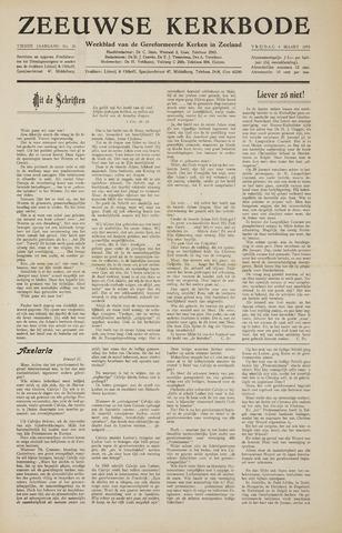 Zeeuwsche kerkbode, weekblad gewijd aan de belangen der gereformeerde kerken/ Zeeuwsch kerkblad 1955-03-04
