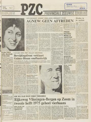 Provinciale Zeeuwse Courant 1973-09-27