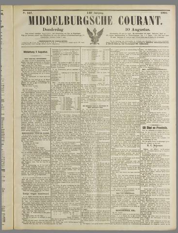 Middelburgsche Courant 1905-08-10