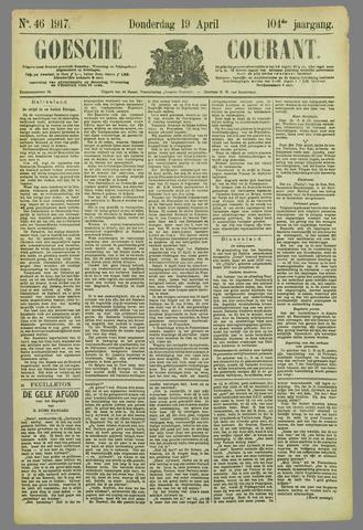Goessche Courant 1917-04-19