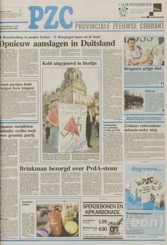 Provinciale Zeeuwse Courant 1993-06-07