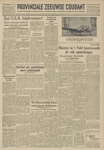 Provinciale Zeeuwse Courant 1949-01-20
