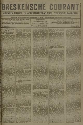 Breskensche Courant 1922-03-22