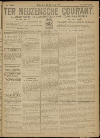 Ter Neuzensche Courant. Algemeen Nieuws- en Advertentieblad voor Zeeuwsch-Vlaanderen / Neuzensche Courant ... (idem) / (Algemeen) nieuws en advertentieblad voor Zeeuwsch-Vlaanderen 1917-01-20