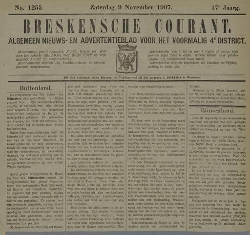 Breskensche Courant 1907-11-09