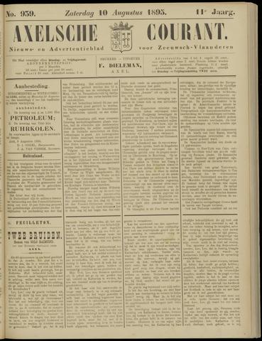Axelsche Courant 1895-08-10