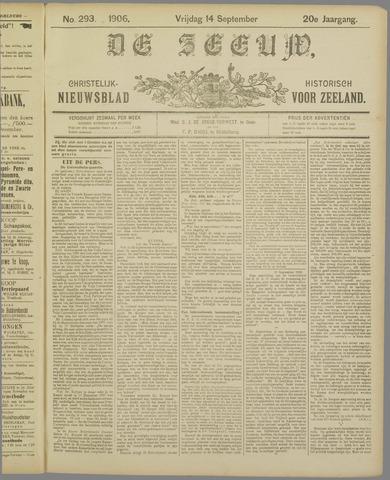 De Zeeuw. Christelijk-historisch nieuwsblad voor Zeeland 1906-09-14