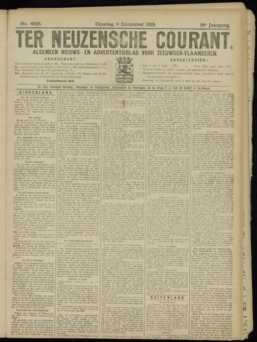 Ter Neuzensche Courant. Algemeen Nieuws- en Advertentieblad voor Zeeuwsch-Vlaanderen / Neuzensche Courant ... (idem) / (Algemeen) nieuws en advertentieblad voor Zeeuwsch-Vlaanderen 1919-12-09