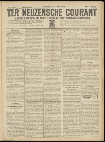 Ter Neuzensche Courant. Algemeen Nieuws- en Advertentieblad voor Zeeuwsch-Vlaanderen / Neuzensche Courant ... (idem) / (Algemeen) nieuws en advertentieblad voor Zeeuwsch-Vlaanderen 1938-06-15