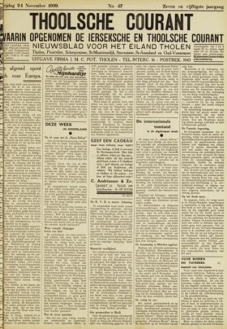 Ierseksche en Thoolsche Courant 1939-11-24