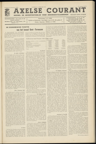 Axelsche Courant 1963-02-16