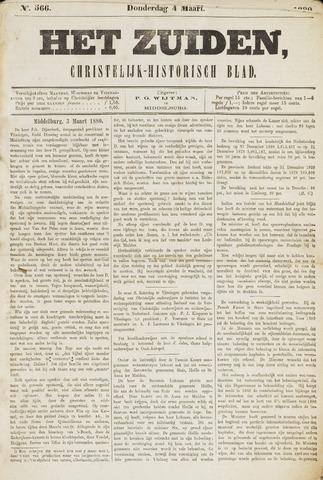 Het Zuiden, Christelijk-historisch blad 1880-03-04