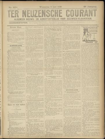 Ter Neuzensche Courant. Algemeen Nieuws- en Advertentieblad voor Zeeuwsch-Vlaanderen / Neuzensche Courant ... (idem) / (Algemeen) nieuws en advertentieblad voor Zeeuwsch-Vlaanderen 1928-06-06