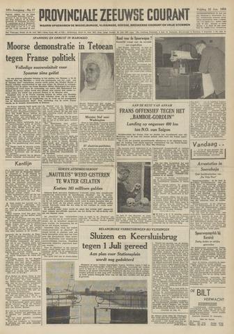 Provinciale Zeeuwse Courant 1954-01-22