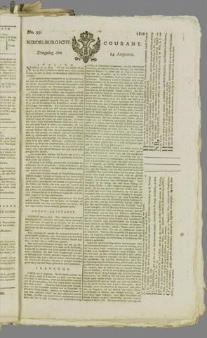 Middelburgsche Courant 1810-08-14
